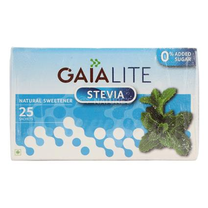 Lite Stevia Sweetener  -  25 Sachets - Gaia