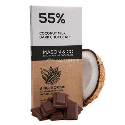 Coconut Milk Dark Chocolate - Mason