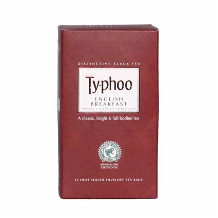 English Breakfast Tea  -  25 TB - Typhoo