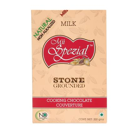 Stone Grounded Cooking Chocolate - Mii Spezial