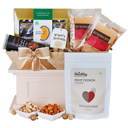 Exotic Dry Fruit Hamper - Medium