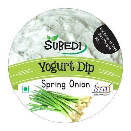 Spring Onion Yogurt Dip - Subedi