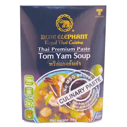 Thai Cuisine Tom Yam Soup - Blue Elephant