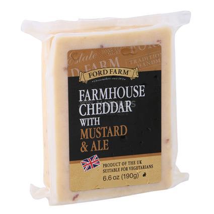 Farmhouse Cheddar Cheese W/ Mustard &  Ale - Ford Farm