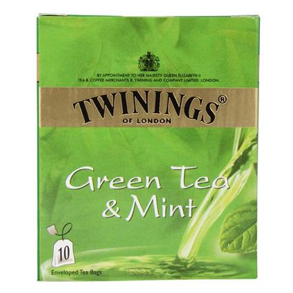 Green Tea & Mint  -  10 TB - Twinings
