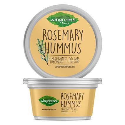 Rosemary Hummus - Wingreens Farms