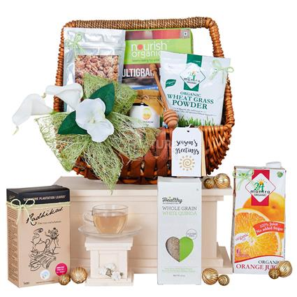 Organic Gourmet Hamper Medium
