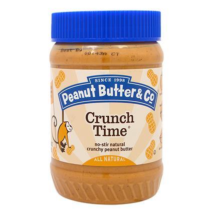 Crunch Time Peanut Butter - Crunchy - Peanut Butter & Co