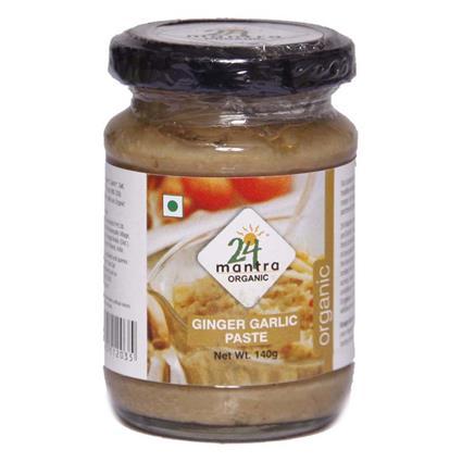 Ginger Garlic Paste - 24 Mantra Organic