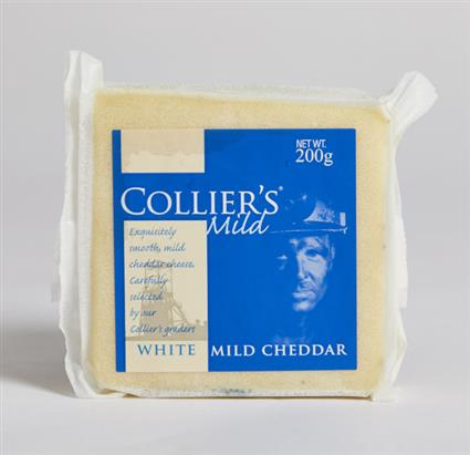 COLLIERS CHEDDAR WHITE 200 GM