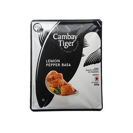 CAMBAY TIGER PRE LEMON PEPPER BASA 200G