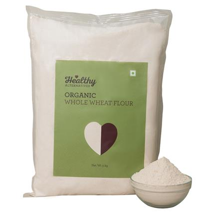 Organic Whole Wheat Flour - Healthy Alternatives