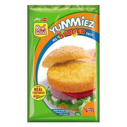 Veg Burger Patty - Yummiez