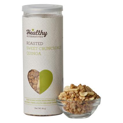 Roasted Crunch Mix Quinoa - Healthy Alternatives