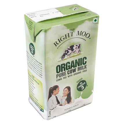 Organic Toned Milk - The Right Moo