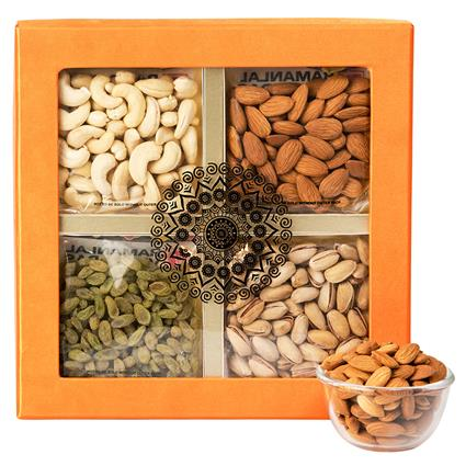 Dryfruit Gift Pack Of 4 - L'exclusif
