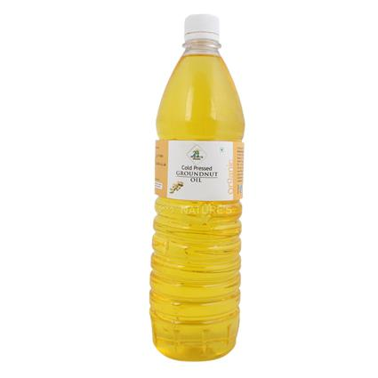 Groundnut Oil  -  Cold Pressed - 24 Mantra Organic