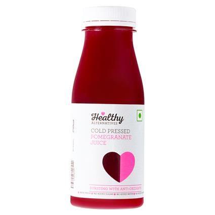Pomegranate Cold Pressed  Juice - Healthy Alternatives