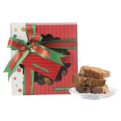 Christmas Plum Cake Round - Smoor