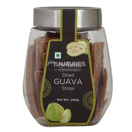Dried Guava Strips - Desi Nature