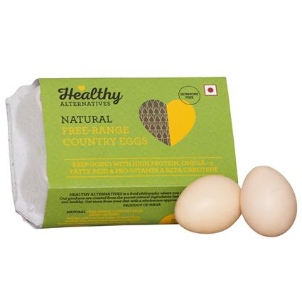 Free Range Country Eggs Pk Of 6 - Healthy Alternatives