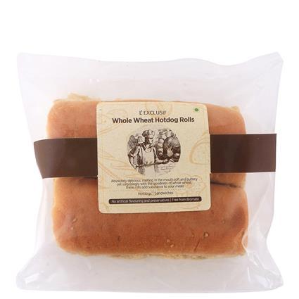 Whole Wheat Hotdog Rolls - L'exclusif