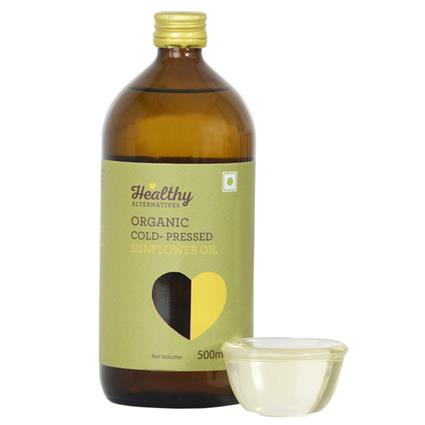 Organic Cold Pressed Sunflower Oil - Healthy Alternatives