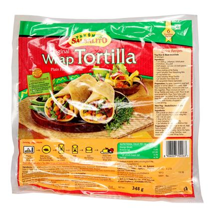 Wrap Tortilla Original - Tex Mex Salsalito