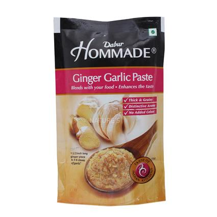 DABUR HOMMADE GINGER GARLIC PASTE 100G