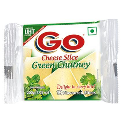 Cheese Slice Green Chutney Flavour - Gowardhan