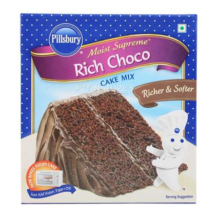 Moist Supreme Cake Mix  -  Rich Choco - Pillsbury