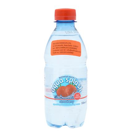 Strawberry Spark Flavoured Drink - Aqua Splash