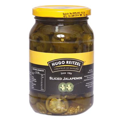 Sliced Jalapenos - Hugo Reitzel
