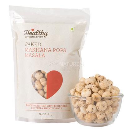 Baked Masala Makhana Pops - Healthy Alternatives