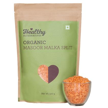 Organic Masoor Malka Split - Healthy Alternatives