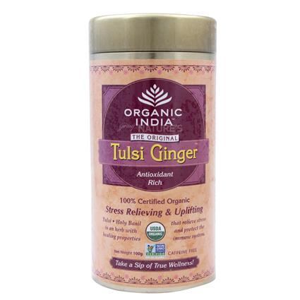Tulsi Ginger Tea - Organic India