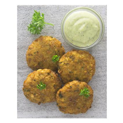 Three Pea Falafel With Mint Mayo - Natures Kitchen