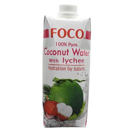 Pure Coconut Water W/ Lychee - Foco
