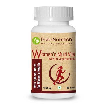 PURE NUTRITION WOMEN's MULTI VITA 60N