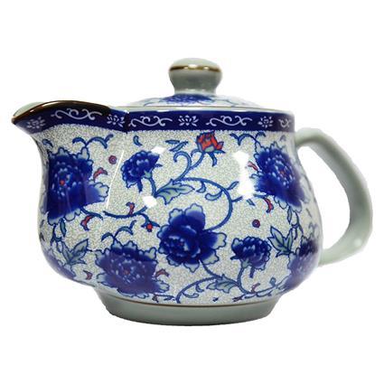 Peony Ceramic Loose Leaf Tea Pot - TGL Co.