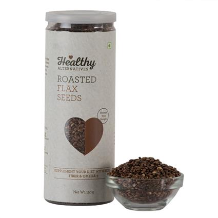 Roasted Flax Seeds - Healthy Alternatives