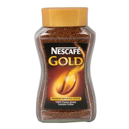 100% Freeze - Dried Soluble Coffee  -  Gold - Nescafe