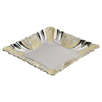 Enamaled Fruit Tray Square M - Shaze