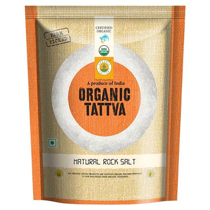 Natural Rock Salt Organic - Organic Tattva