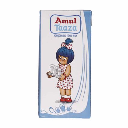 Taaza  -  Homogenised Toned Milk - Amul