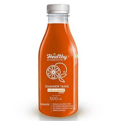 Cold Pressed Juice Summer Tang - Healthy Alternatives