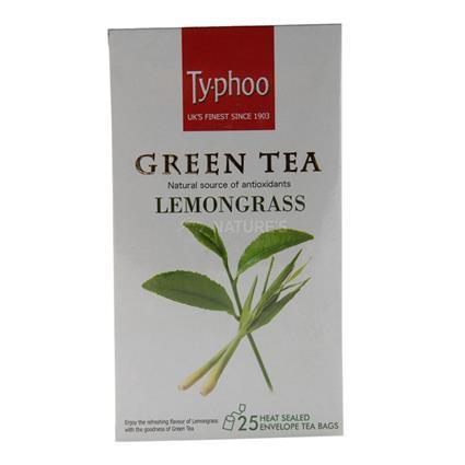 Green Tea Lemongrass Tea  -  25 TB - Typhoo