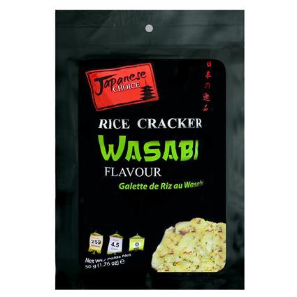 Wasabi Rice Cracker Japanese Choice