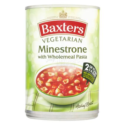 Minestrone W/ Wholewheat Pasta Soup - Baxters