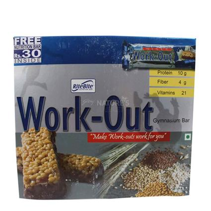 Work - Out Gymnasium Bar  -  Pack Of 6 - Ritebite